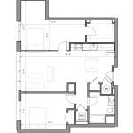 Edge Floor Plan B1