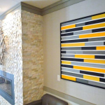 Element Lobby Fireplace